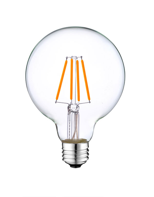 5W G25 LED Edison Globe bulbs ETL Listed