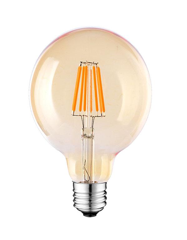 5W G25 LED Edison Globe bulbs ETL Listed