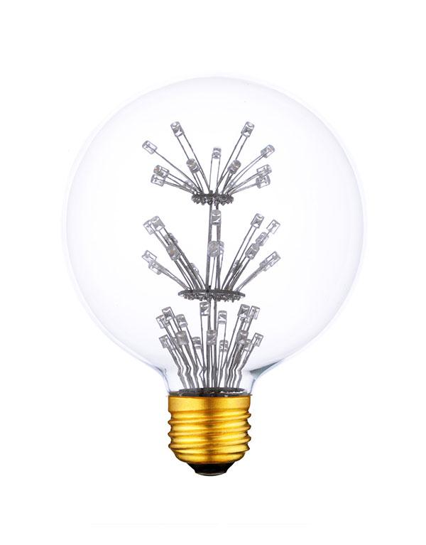 G125 Edison Style Vintage LED Firework Light