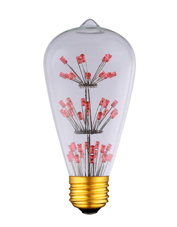 ST64 edison style led light bulbs