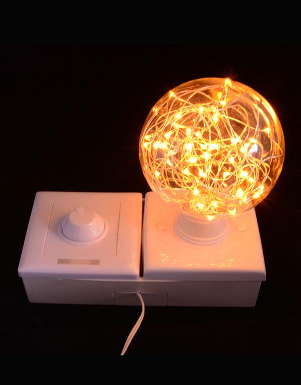 G95 Globe Decorative Starry LED bulbs