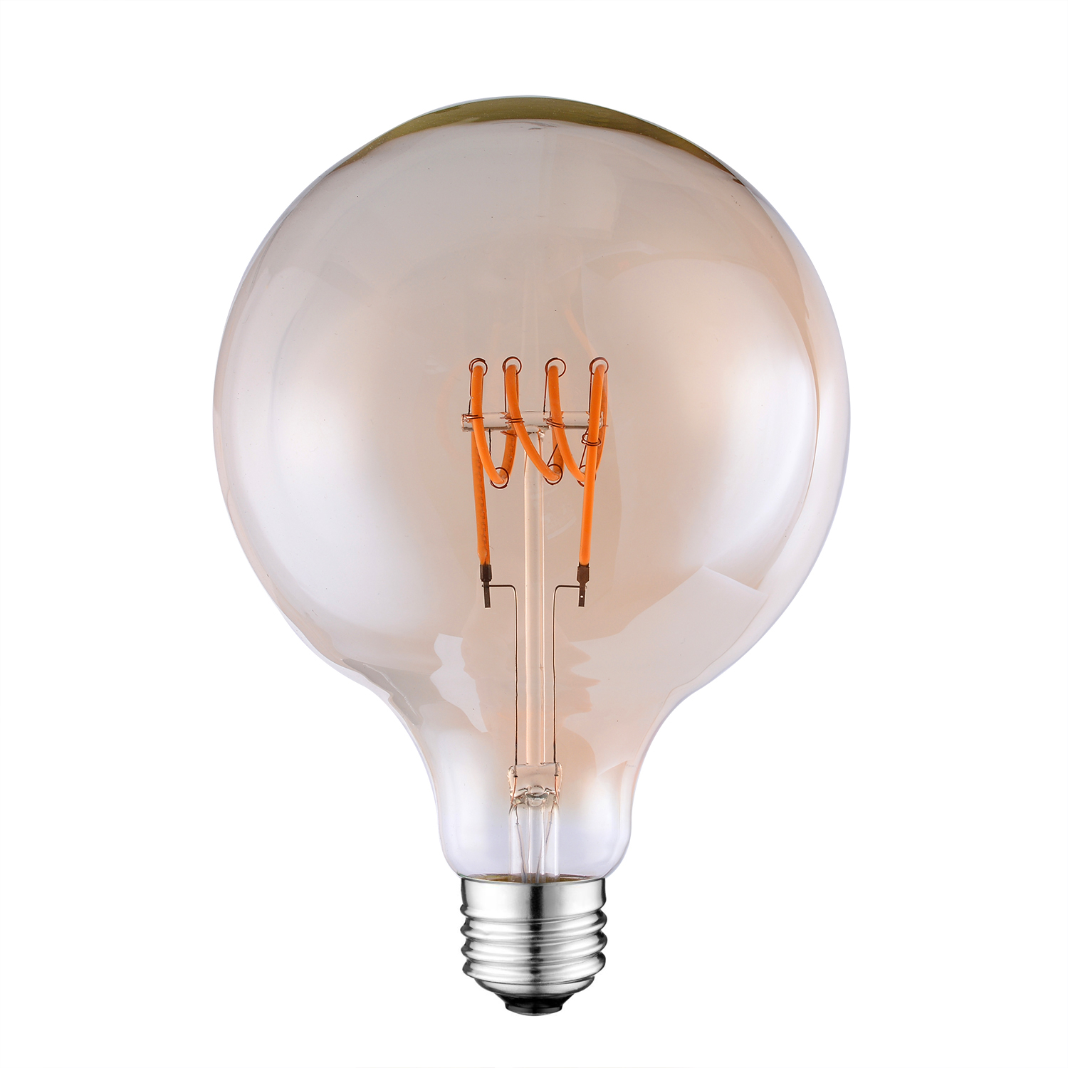 G95 Globe LED Curved Filament bulb
