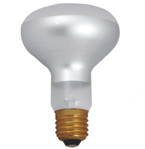 Dimmable R80 LED filament spotlight lamp