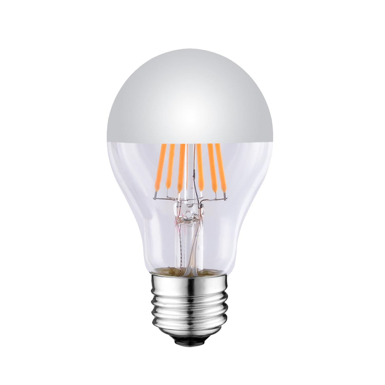 A21 Mirrored LED FILAMENT BULB UL ETL LISTED