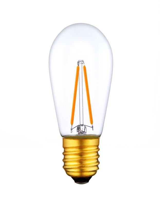 UL Listed 1.5W S14 LED Filament bulbs