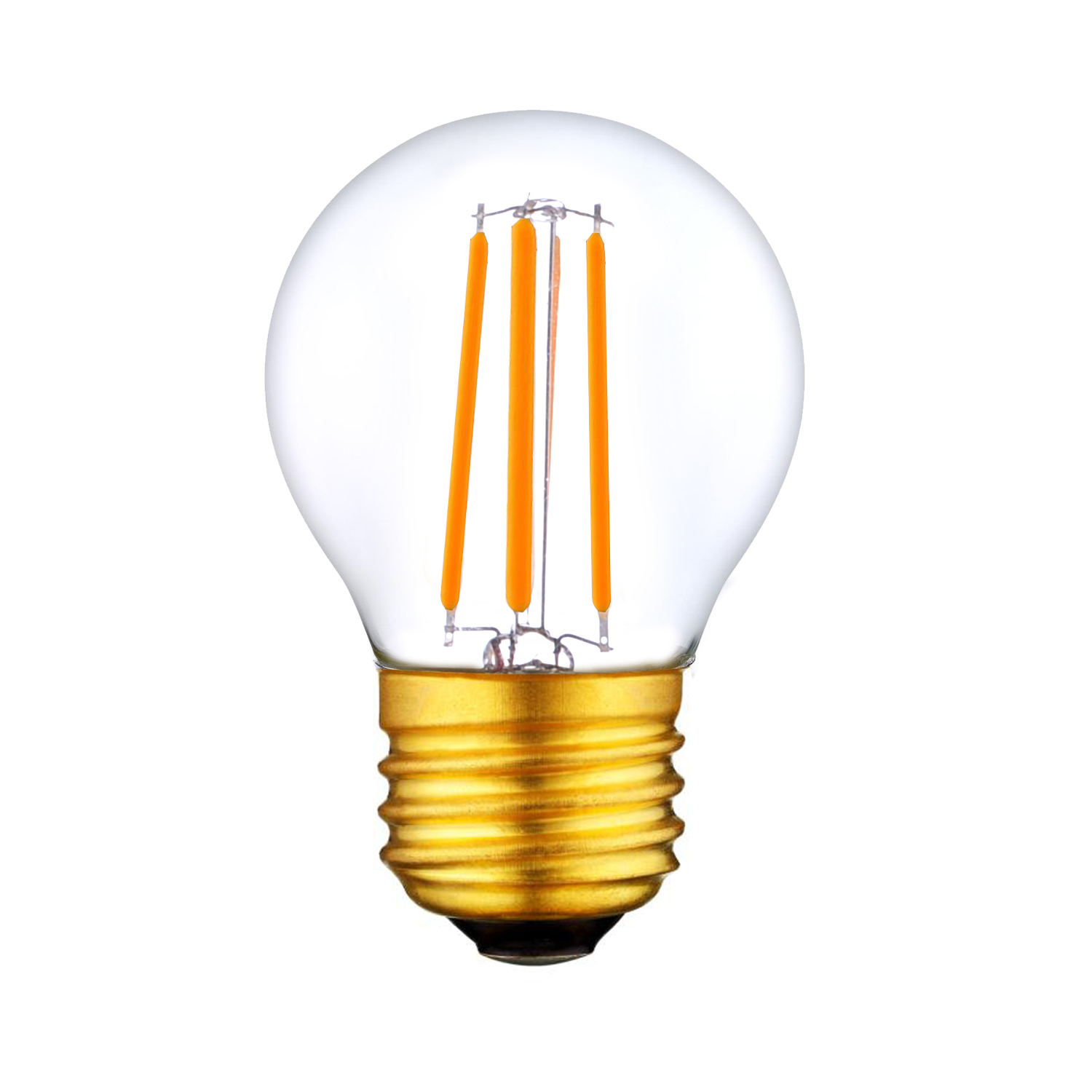 ETL E26 LED G14 Globe Filament light