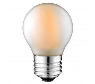 G45 E27 Frosted LED Filament bulb