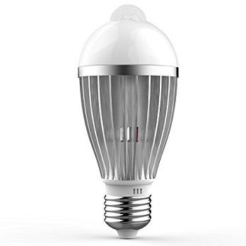 5W LED Infrared Motion Sensor light bulb