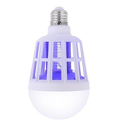 12W Bug Zapper Light Bulb
