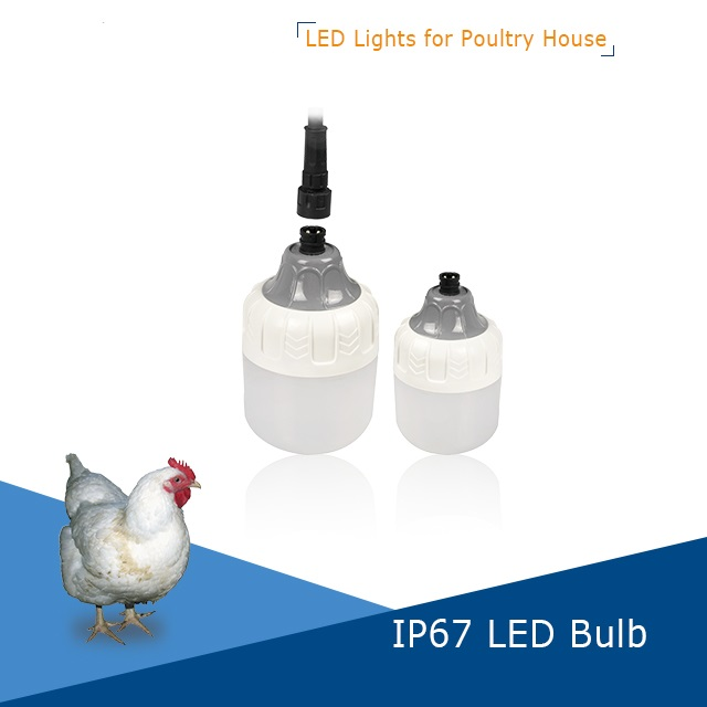 IP67 Dimmable LED poultry chicken bulb