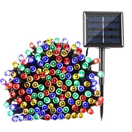 LED Solar Outdoor Fairy String Lights