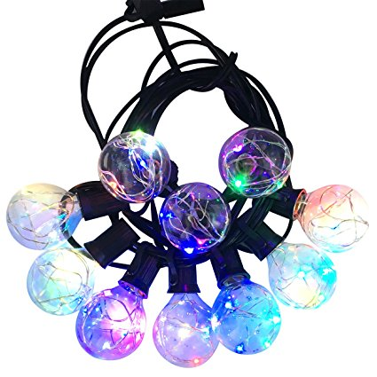G40 E12 RGB LED Globe String light
