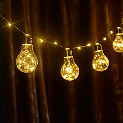 A19 Battery Operated Copper String Light