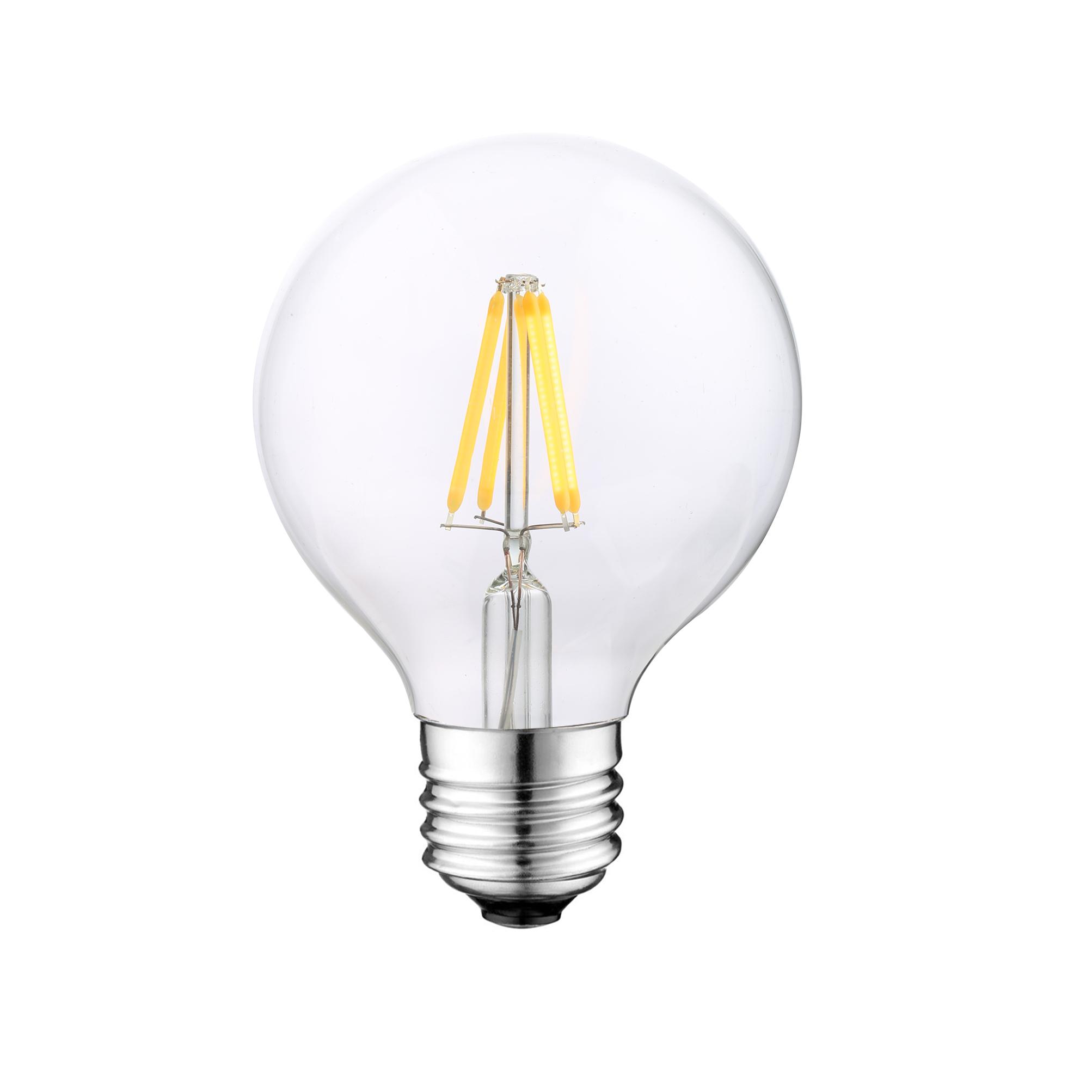 UL G25 LED Globe Filament bulb