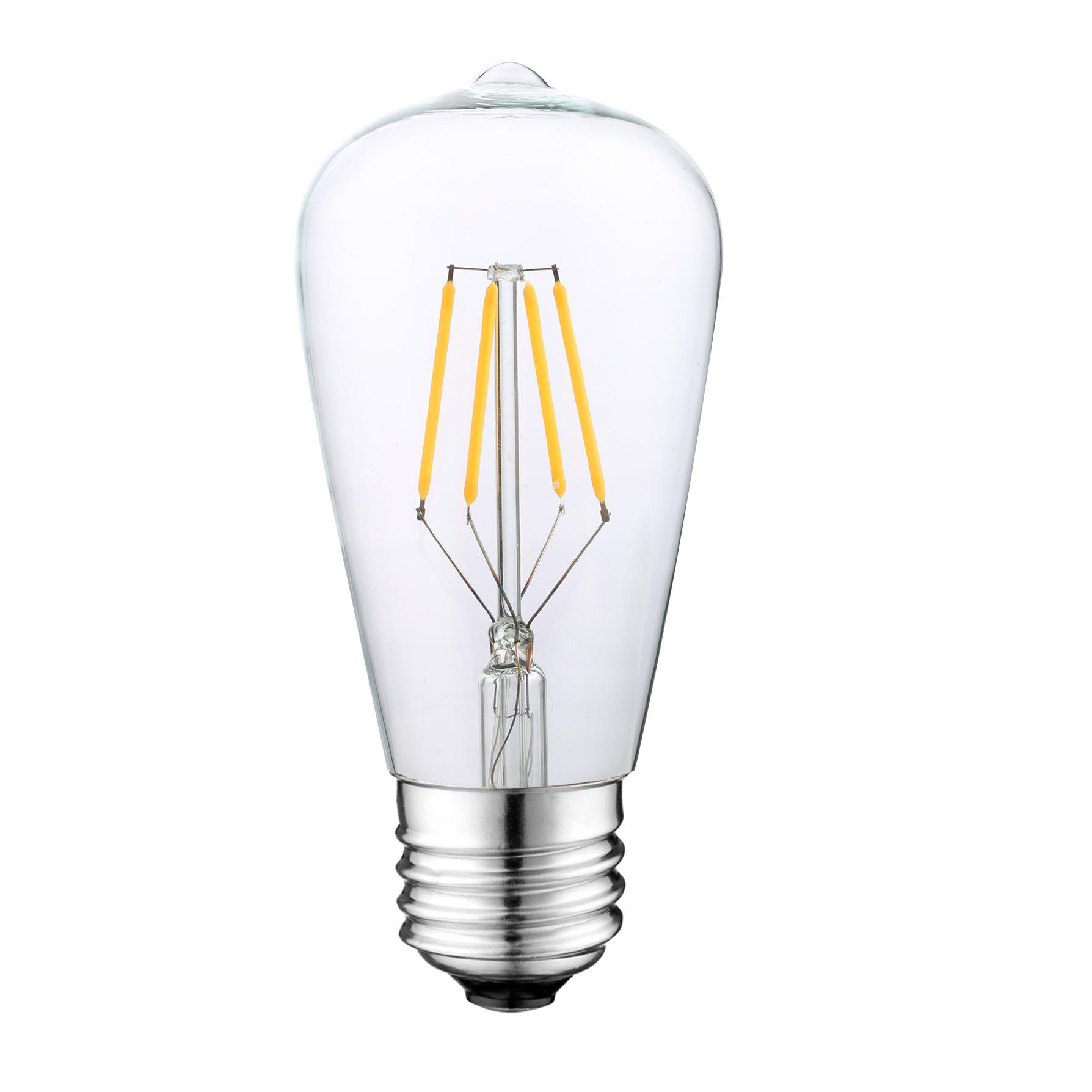 UL Listed ST64 LED Vintage light bulbs