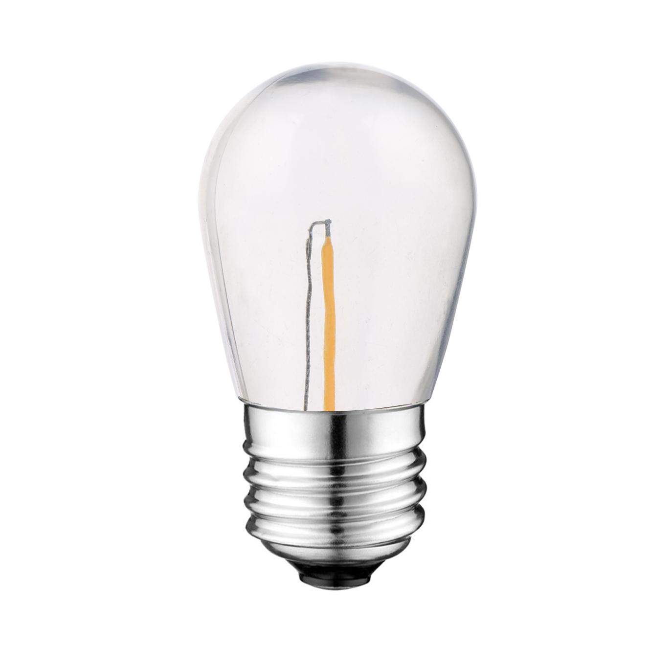 UL LED S14 String patio bulb