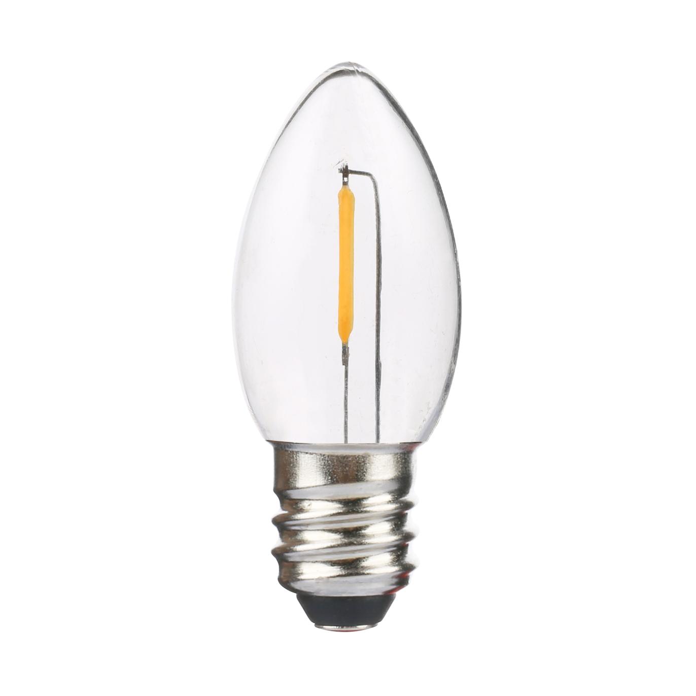 UL Listed E17 C9 LED bulbs