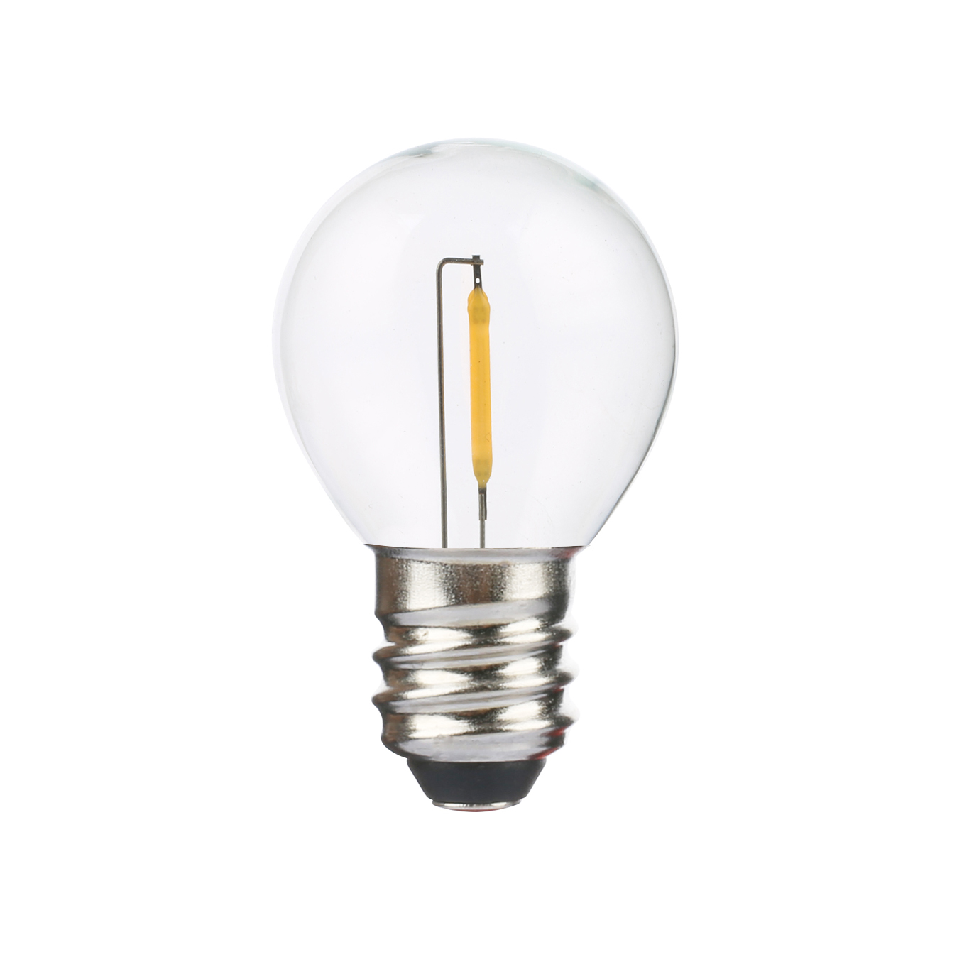UL Listed G40 E12 LED Filament bulbs
